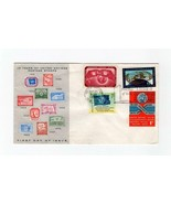 FDC ENVELOPE-10 YEARS OF UNITED NATIONS POSTAGE STAMPS-1962  BK13 - $1.96