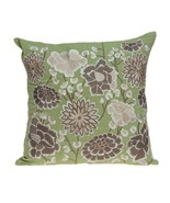 "20"" x 7"" x 20"" Cool Tropical Green Pillow Cover With Down - €118,33 EUR"