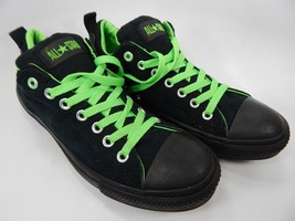 Converse All Star Chuck Taylor Shoes Sneakers Size US 9.5 M EU 43 Black Green
