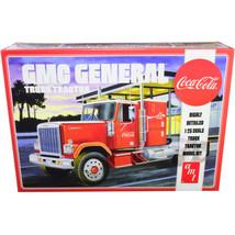 Skill 3 Model Kit GMC General Truck Tractor Coca-Cola 1/25 Scale Model b... - $84.64