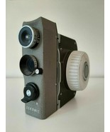 Vintage 8mm movie camera Sekonic Dualmatic-50 with lens 1:1.8 F=13mm - $47.20