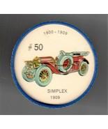 1909 SIMPLEX Jell-O Picture Wheel #50 - $5.00