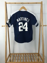 VTG Starter MLB Yankees #24 Tino Martinez Baseball Jersey Size YOUTH M - $18.95