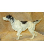 "ANTIQUE CAST IRON 15"" LONG DOOR STOP HUNTING SETTER POINTER DOG  - $101.67"
