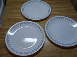 corelle blue snowflake garland plates - $18.95