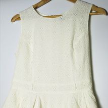 Forever 21 Women Size Medium Ivory Fit and Fare A-line Dress  image 5
