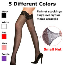 Women's Stockings, high stretched with lace lingerie hosiery - $17.99
