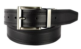 NEW LEVI'S MEN'S CLASSIC REVERSIBLE LEATHER BELT BLACK BROWN 11LV1251 SIZE 38/40