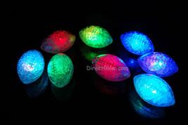 Set of 8 Litecubes Brand RAINBOW Light up LED Footballs - $25.74 CAD