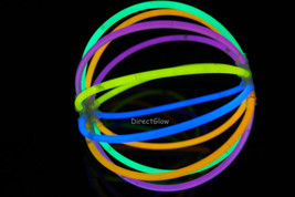 Set of 5 Assorted Glow Stick Ball- 60 sticks + 10 connectors - $13.95