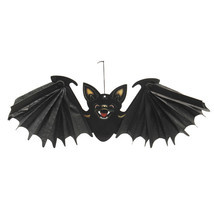 Halloween Party Decoration Prop Hanging Vampire Bat 24 Inch Wingspan - $168,57 MXN
