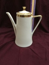 Winterling Bavaria COFFEE Tea POT Design Floral GOLD TRIM - $95.79
