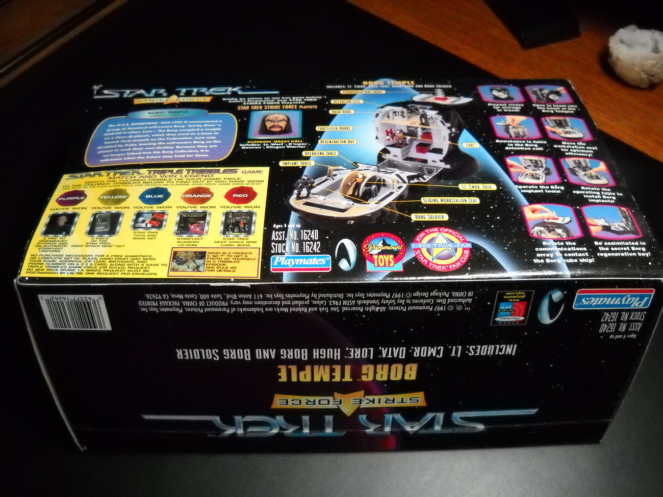 Star Trek Next Generation Strike Force Borg Temple 1997 Sealed and Complete