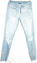 American Eagle Outfitters 360* Super Stretch Distressed Jegging Jeans 4 X-Long image 1