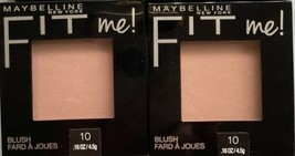 Lot of (2) or (3) Maybelline New York Fit me! Blush~ Choose Otions below: - $5.00+