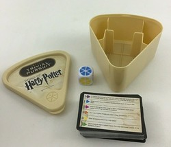 Trivial Pursuit World of Harry Potter Game Questions Dice Case Hasbro Complete - $11.83