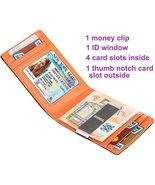 RFID SIim Wallet with Money Clip RFID Blocking Wallet | Credit Card Hold... - $25.00