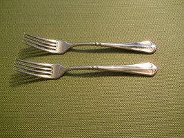 """Mikasa French Countryside set of 2 dinner forks 7 3/4""""  free shipping - $16.78"""