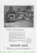1924 Karnak Rugs By Mohawk Carpet 4 Vintage Print Ads - $4.50