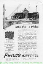 1924 Philco Batteries 5 Vintage Magazine Print Ads - $3.50