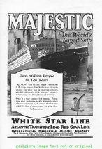 1925 White Star Line Cruise Ship 4 Vintage Print Ads - $4.50
