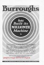 1926 Burroughs & Remington Typewriter 4 Vintage Ads - $4.50