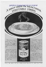 1928 Campbell's Soup 2 Vintage Magazine Print Ads - $3.50
