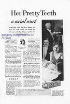 1928 Colgates Dental Cream 2 Vintage Magazine Print Ads - $2.50