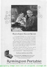 1924 Remington Portable Typewriter 3  Vintage Print Ads - $3.50