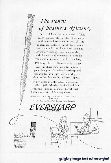 A 1922eversharpefficient