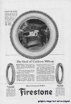 1922 Firestone US Royal Tires 3 Vintage Print Ads - $3.50