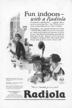 1925 RCA Radiola Victor Victrola 4 Vintage Print Ads - $4.50