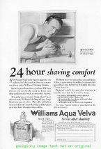 1925 Williams Shaving Aqua Velva 6 Vintage Print Ads - $4.50