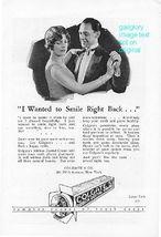 1926 Colgate & Forhan's Tooth Paste 2 Vintage Print Ads - $2.50