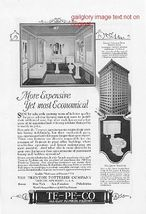 1926 TE-PE-CO, Speakman Bath Shower 2 Vintage Print Ads - $2.50
