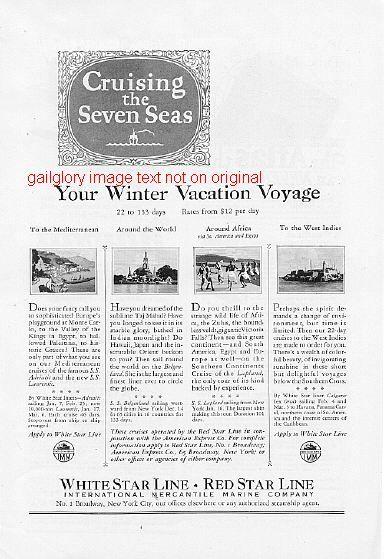 A 1926cruisewhitestar7seas