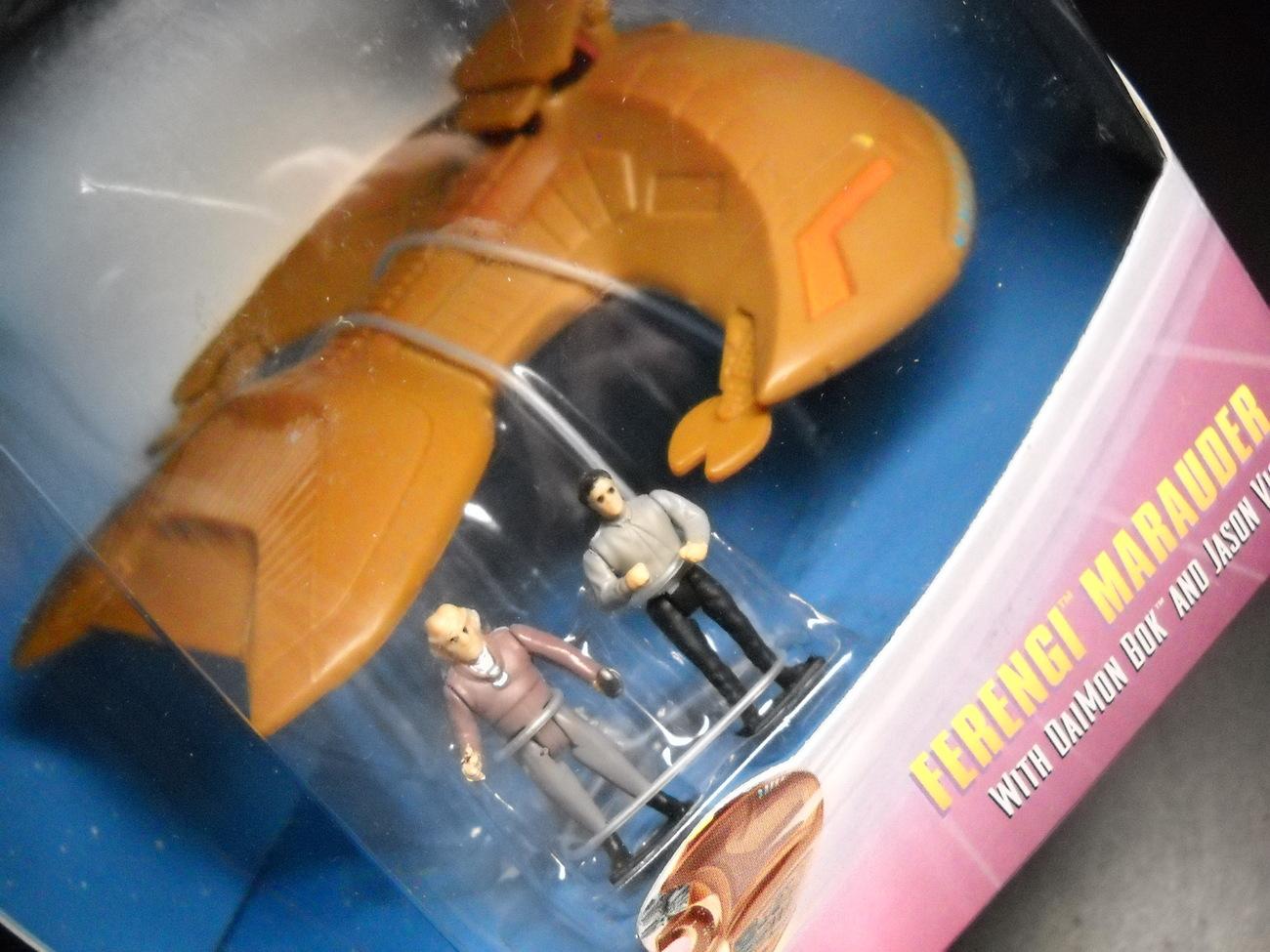 Toy star trek playmates strike force ferengi marauder 1997 mib sealed 05