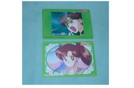 OFFICIAL JAPAN SAILOR MOON VINTAGE REGULAR PLASTIC CEL CARD W JUPITER SA... - $7.00