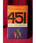FAHRENHEIT 451 early Ballantine Edition SIGNED by Ray Bradbury - $196.00