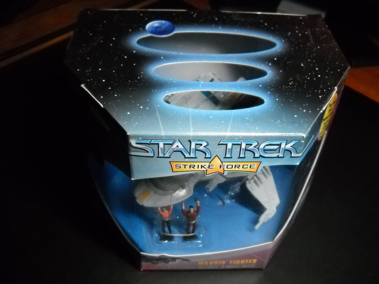 Star Trek Strike Force Series Maquis Fighter 1997 Sealed in Box Playmates