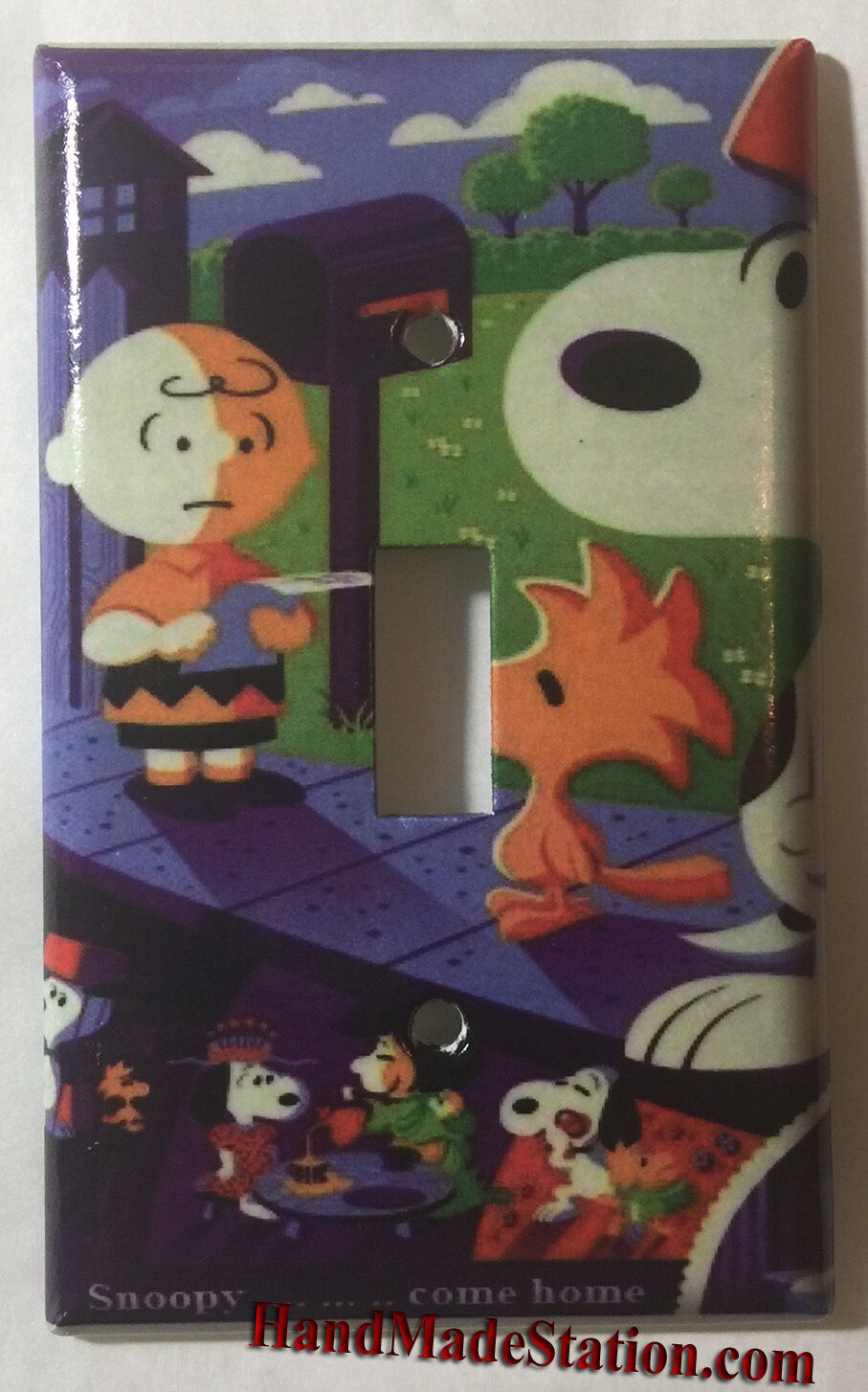 Snoopy old poster single toggle