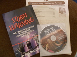 Storm Warning: the coming persecution of Christians & Traditionalists+Bonus - $10.95
