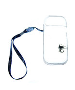 Cat Transparent Clear Crystal Hard case for iQOS + detachable wrist Strap - $6.85