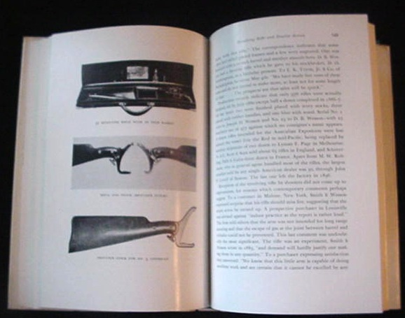 Old Smith Wesson Revolver Gun Pistol Book John Parsons