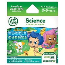 LeapFrog Explorer Game: Bubble Guppies (for LeapPad and Leapster)  - $48.00