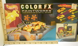 1993 Hot Wheels Color Fx Paintworks Unopened Color Customizing Shop  MPN 11388 - $23.36