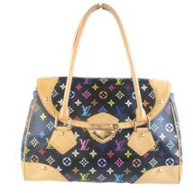 Louis Vuitton Black Monogram Multicolore Beverly GM Bag - $1,199.00