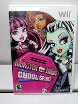 Monster High Ghoul Spirit (Nintendo Wii, 2011) Rate Everyone Disk Only No Manual - $9.89