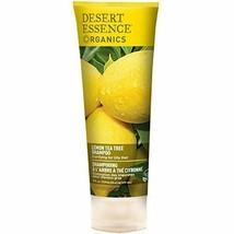 NEW Desert Essence Organics Hair Care Shampoo for Oily Hair Lemon Tea Tr... - $11.97