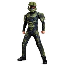 HALO Master Chief Classic Muscle Boys size L 10/12 Licensed Costume 8997... - $17.33